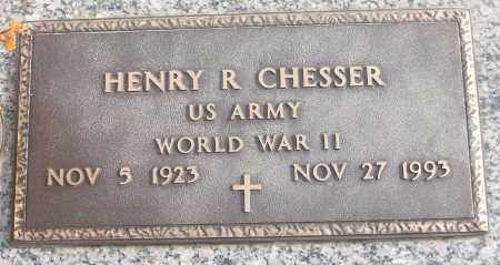 CHESSER (VETERAN WWII), HENRY R - White County, Arkansas | HENRY R CHESSER (VETERAN WWII) - Arkansas Gravestone Photos