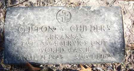 CHILDERS (VETERAN WWII), CLIFTON S - White County, Arkansas | CLIFTON S CHILDERS (VETERAN WWII) - Arkansas Gravestone Photos