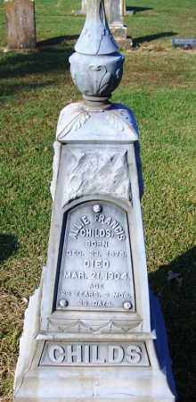 CHILDS, ALLIE FRANCIS - White County, Arkansas | ALLIE FRANCIS CHILDS - Arkansas Gravestone Photos