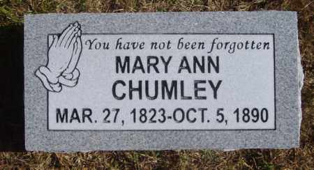 DOSS CHUMLEY, MARY ANN - White County, Arkansas | MARY ANN DOSS CHUMLEY - Arkansas Gravestone Photos