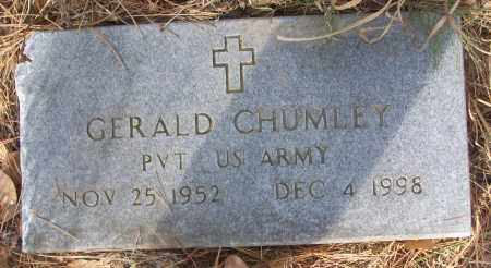 CHUMLEY (VETERAN), GERALD - White County, Arkansas | GERALD CHUMLEY (VETERAN) - Arkansas Gravestone Photos
