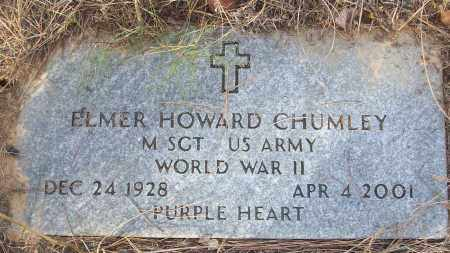 CHUMLEY (VETERAN WWII), ELMER HOWARD - White County, Arkansas | ELMER HOWARD CHUMLEY (VETERAN WWII) - Arkansas Gravestone Photos