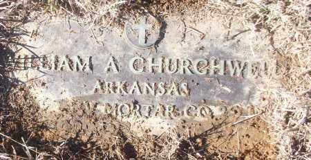 CHURCHWELL (VETERAN), WILLIAM A - White County, Arkansas | WILLIAM A CHURCHWELL (VETERAN) - Arkansas Gravestone Photos