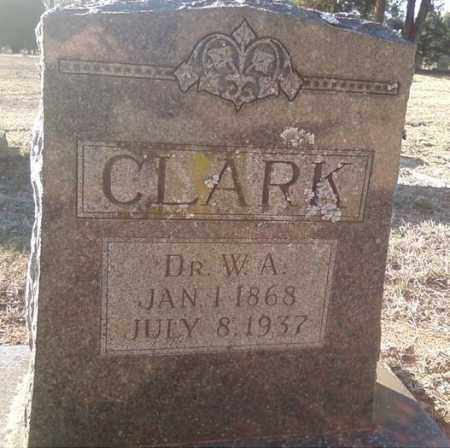 CLARK  DR, W A - White County, Arkansas | W A CLARK  DR - Arkansas Gravestone Photos