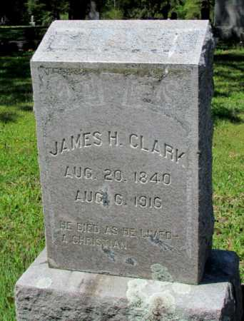 CLARK, JAMES H - White County, Arkansas | JAMES H CLARK - Arkansas Gravestone Photos