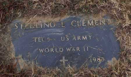 CLEMENT (VETERAN WWII), STERLING L - White County, Arkansas | STERLING L CLEMENT (VETERAN WWII) - Arkansas Gravestone Photos