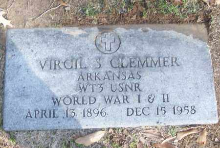 CLEMMER (VETERAN 2 WARS), VIRGIL S - White County, Arkansas | VIRGIL S CLEMMER (VETERAN 2 WARS) - Arkansas Gravestone Photos