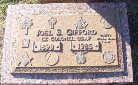 GIFFORD (VETERAN 2 WARS), JOEL S - White County, Arkansas | JOEL S GIFFORD (VETERAN 2 WARS) - Arkansas Gravestone Photos