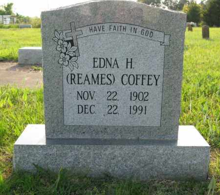 REAMES COFFEY, EDNA H. - White County, Arkansas | EDNA H. REAMES COFFEY - Arkansas Gravestone Photos
