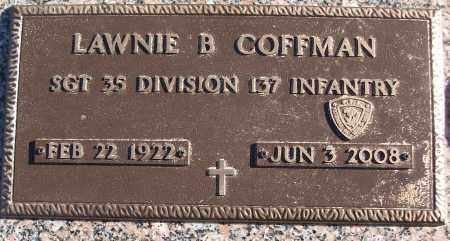 COFFMAN (VETERAN WWII), LAWNIE B - White County, Arkansas | LAWNIE B COFFMAN (VETERAN WWII) - Arkansas Gravestone Photos