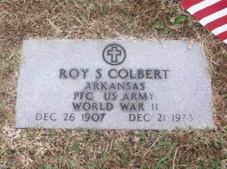 COLBERT  (VETERAN WWII), ROY S - White County, Arkansas | ROY S COLBERT  (VETERAN WWII) - Arkansas Gravestone Photos