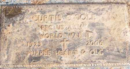 COLE (VETERAN WWII), CURTIS C - White County, Arkansas | CURTIS C COLE (VETERAN WWII) - Arkansas Gravestone Photos