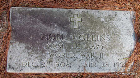 COLLINS (VETERAN WWII), NOEL - White County, Arkansas | NOEL COLLINS (VETERAN WWII) - Arkansas Gravestone Photos