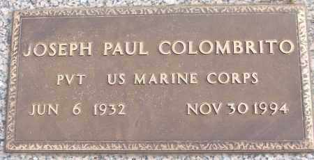 COLOMBRITO (VETERAN), JOSEPH PAUL - White County, Arkansas | JOSEPH PAUL COLOMBRITO (VETERAN) - Arkansas Gravestone Photos