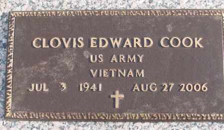 COOK (VETERAN VIET), CLOVIS EDWARD - White County, Arkansas | CLOVIS EDWARD COOK (VETERAN VIET) - Arkansas Gravestone Photos
