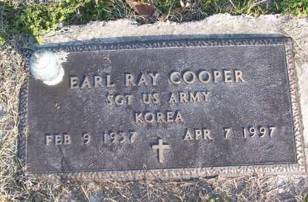 COOPER (VETERAN KOR), EARL RAY - White County, Arkansas | EARL RAY COOPER (VETERAN KOR) - Arkansas Gravestone Photos