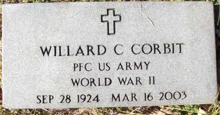 CORBIT (VETERAN WWII), WILLARD C - White County, Arkansas | WILLARD C CORBIT (VETERAN WWII) - Arkansas Gravestone Photos