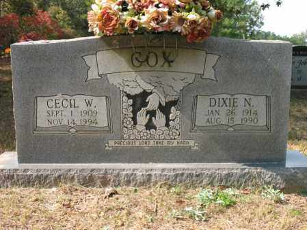 COX, CECIL W - White County, Arkansas | CECIL W COX - Arkansas Gravestone Photos
