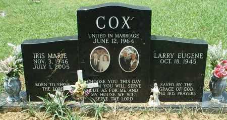 COX, IRIS MARIE - White County, Arkansas | IRIS MARIE COX - Arkansas Gravestone Photos
