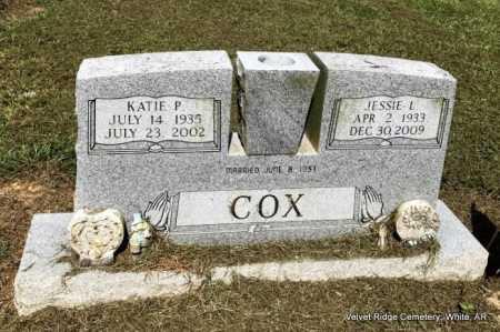 COX, KATIE P - White County, Arkansas | KATIE P COX - Arkansas Gravestone Photos