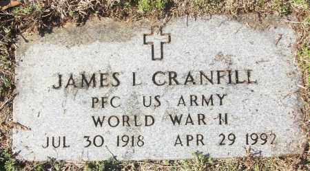 CRANFILL (VETERAN WWII), JAMES L - White County, Arkansas | JAMES L CRANFILL (VETERAN WWII) - Arkansas Gravestone Photos
