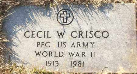 CRISCO (VETERAN WWII), CECIL W - White County, Arkansas | CECIL W CRISCO (VETERAN WWII) - Arkansas Gravestone Photos