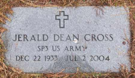 CROSS (VETERAN), JERALD DEAN - White County, Arkansas | JERALD DEAN CROSS (VETERAN) - Arkansas Gravestone Photos