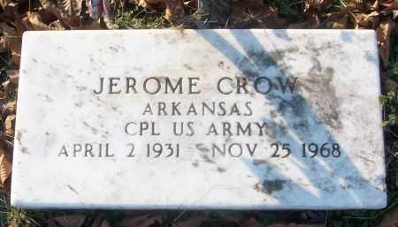 CROW (VETERAN), JEROME - White County, Arkansas | JEROME CROW (VETERAN) - Arkansas Gravestone Photos