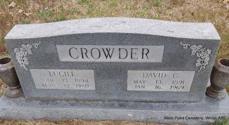 CROWDER, DAVID C. - White County, Arkansas | DAVID C. CROWDER - Arkansas Gravestone Photos
