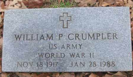 CRUMPLER (VETERAN WWII), WILLIAM P - White County, Arkansas | WILLIAM P CRUMPLER (VETERAN WWII) - Arkansas Gravestone Photos
