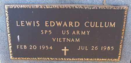 CULLUM (VETERAN VIET), LEWIS EDWARD - White County, Arkansas | LEWIS EDWARD CULLUM (VETERAN VIET) - Arkansas Gravestone Photos