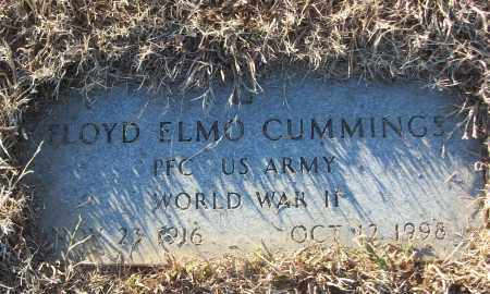 CUMMINGS (VETERAN WWII), FLOYD ELMO - White County, Arkansas | FLOYD ELMO CUMMINGS (VETERAN WWII) - Arkansas Gravestone Photos