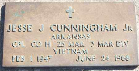 CUNNINGHAM, JR (VETERAN VIET,, JESSE J - White County, Arkansas | JESSE J CUNNINGHAM, JR (VETERAN VIET, - Arkansas Gravestone Photos
