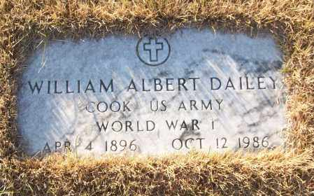 DAILEY (VETERAN WWI), WILLIAM ALBERT - White County, Arkansas | WILLIAM ALBERT DAILEY (VETERAN WWI) - Arkansas Gravestone Photos