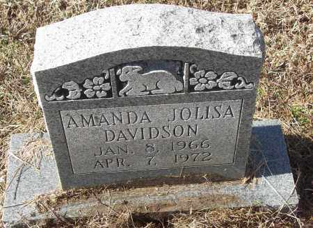 DAVIDSON, AMANDA JOLISA - White County, Arkansas | AMANDA JOLISA DAVIDSON - Arkansas Gravestone Photos