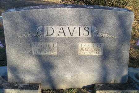 DAVIS, BESSIE E - White County, Arkansas | BESSIE E DAVIS - Arkansas Gravestone Photos