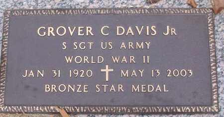 DAVIS, JR (VETERAN WWII), GROVER C - White County, Arkansas | GROVER C DAVIS, JR (VETERAN WWII) - Arkansas Gravestone Photos
