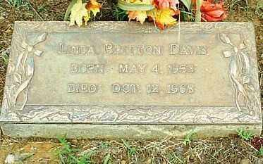 BRITTON DAWS, LINDA - White County, Arkansas | LINDA BRITTON DAWS - Arkansas Gravestone Photos