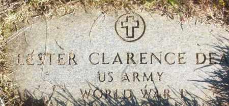 DEAN (VETERAN WWI), LESTER CLARENCE - White County, Arkansas | LESTER CLARENCE DEAN (VETERAN WWI) - Arkansas Gravestone Photos