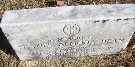 DEAN (VETERAN WWII, KIA), FRAZIER ALMODA - White County, Arkansas | FRAZIER ALMODA DEAN (VETERAN WWII, KIA) - Arkansas Gravestone Photos