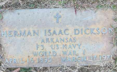 DICKSON (VETERAN WWI), HERMAN ISAAC - White County, Arkansas | HERMAN ISAAC DICKSON (VETERAN WWI) - Arkansas Gravestone Photos