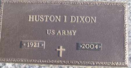DIXON (VETERAN), HUSTON I - White County, Arkansas | HUSTON I DIXON (VETERAN) - Arkansas Gravestone Photos