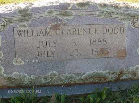 DODD, WILLIAM CLARENCE - White County, Arkansas | WILLIAM CLARENCE DODD - Arkansas Gravestone Photos