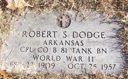 DODGE (VETERAN WWII), ROBERT S - White County, Arkansas | ROBERT S DODGE (VETERAN WWII) - Arkansas Gravestone Photos
