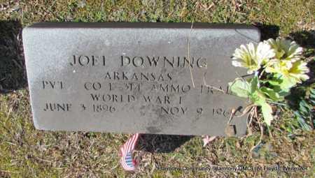 DOWNING (VETERAN WWI), JOEL - White County, Arkansas | JOEL DOWNING (VETERAN WWI) - Arkansas Gravestone Photos