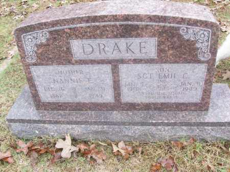 DRAKE  (VETERAN WWII), EMIL C - White County, Arkansas | EMIL C DRAKE  (VETERAN WWII) - Arkansas Gravestone Photos