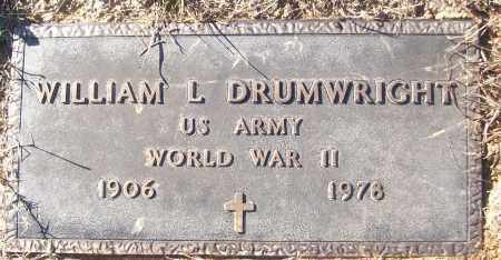 DRUMRIGHT (VETERAN WWII), WILLIAM L - White County, Arkansas | WILLIAM L DRUMRIGHT (VETERAN WWII) - Arkansas Gravestone Photos