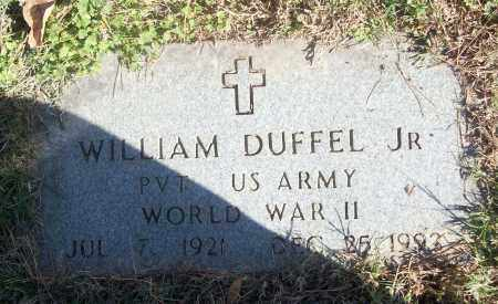 DUFFEL, JR (VETERAN WWII), WILLAIM - White County, Arkansas | WILLAIM DUFFEL, JR (VETERAN WWII) - Arkansas Gravestone Photos