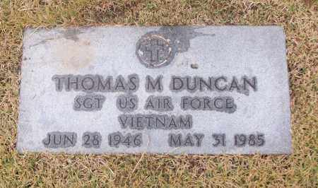 DUNCAN  (VETERAN VIET), THOMAS M - White County, Arkansas | THOMAS M DUNCAN  (VETERAN VIET) - Arkansas Gravestone Photos