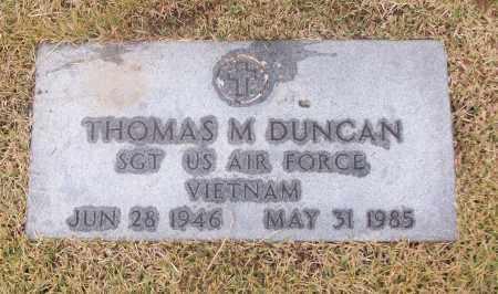 DUNCAN  (VETERAN VIET), THOMAS M - White County, Arkansas | THOMAS M DUNCAN  (VETERAN VIET) - Arkansas Gravestone Photos